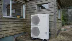 Air Source Heat Pump & Cylinder