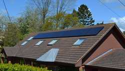 Domestic Solar PV system in Lyme Regis