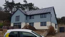 'In-roof' Solar PV array – West Dorset